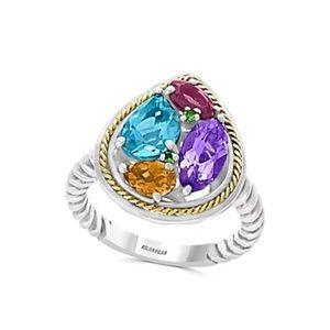 EFFY™️ 18kt gold & sterling silver Gem ring